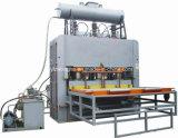 Melamina curta do ciclo que lamina a máquina quente da imprensa