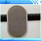 Прямоугольный диск фильтра нержавеющей стали