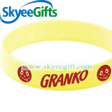 Wristbands promozionali del silicone del punto per il regalo