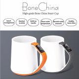 Caneca quente do osso de China do produto comestível da venda de Vson com a caneca do indicador de OLED