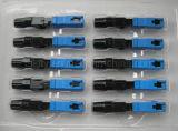 Connecteur Encastré Optique de Sc RPA de la Fibre FTTH Rapidement