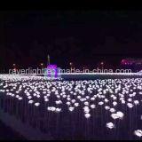 خارجيّ [لد] [7كم] كرة زهرة زخرفة ضوء لأنّ حديقة زخرفة