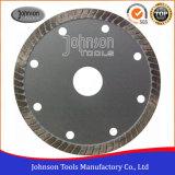 le carreau de céramique de 115mm scie la lame de découpage froide de Turbo de presse de lame