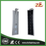 40W tout dans un réverbère solaire solaire de panneau solaire de Sunpower de réverbères de DEL DEL