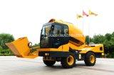 China 4*4 Carro Barato Betoneira Caminhão (HQ400) com Sistema de Carregamento Automático