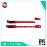 Fascia del raso di sublimazione con il contrassegno duro del PVC di RFID