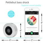 Nova chave de toque da minicaixa acústica portátil sem fio Bluetooth
