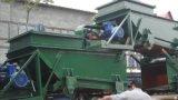 Alimentador del canal inclinado para la planta del cemento