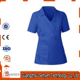 New Medical Womens Contrast Trim Scrub Nursing Uniforms