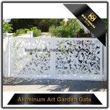 Villa de corte láser de la puerta de entrada de aluminio