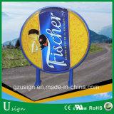 屋外広告のLEDアクリルの物質的なビールライトボックス