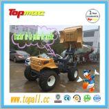 [سد10با] زراعيّة مصغّرة عربة/جرّار شاحنة عجلة ناقل مع مصعد