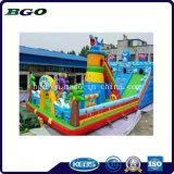 Città gonfiabile di divertimento della trasparenza del castello dei giocattoli per il parco di divertimenti