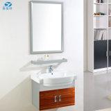 スペース節約PVC金属の浴室用キャビネットの家具の販売のポーランド熱い中国の製造者