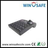 Controlemechanisme van het Toetsenbord van de Bedieningshendel van de Camera van de Veiligheid van het Controlemechanisme RS485 PTZ 4D het Mini