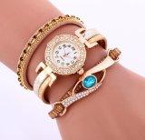 Form-Frauen-Diamant-Armband-Uhren