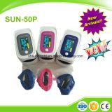 Cer und FDA zugelassenes OLED Fingerspitze-Impuls-Oximeter mit Warnung mit Odi PU-Funktion