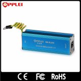 Prendedor de relâmpago da única canaleta 1000Mbps de protetor de impulso do Ethernet