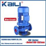 ISW 시리즈 수평한 파이프라인 원심 수도 펌프 (outlet25-40mm)
