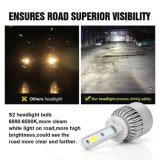 S2 880 881 MAÏSKOLF 8000lm 72W het Automobiel LEIDENE Licht van de Auto