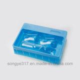 Упаковывать изготовленный на заказ медицинского вспомогательного оборудования пластичный