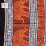 Леди мода Pashmina шаль Непал мягкий слонов в печати без Шарфа
