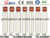 Moldeado de alta densidad de la PU Cornice/PU del moldeado de la decoración de Polyurehtane