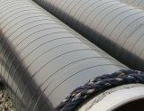 La cinta subterráneo auta-adhesivo del abrigo del tubo de la anticorrosión del PE, envolviendo la cinta del conducto, polietileno butílico impermeabiliza la cinta