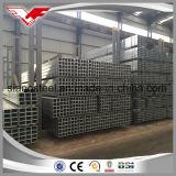 Tubo de acero galvanizado/cuerpo hueco/GI tubo cuadrado/tubo cuadrado de Material de acero dulce