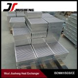 Base de aluminio cubierta con bronce de refrigerador de petróleo de la placa de la barra