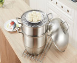 POT del vapore della maniglia del Cookware dell'acciaio inossidabile
