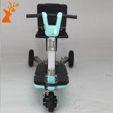 Scooter électrique pliable de mobilité de trois roues 2017 pour les personnes âgées