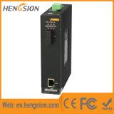 1イーサネットおよび1つのファイバーギガビットポートの産業ネットワークスイッチ