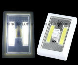 AAA Battery LED Wardrobe Armoire en caoutchouc Cabinet Battery Switch Light