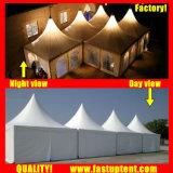 Белый палатка прозрачный высокий пик беседка навес для 300 человек местный гость