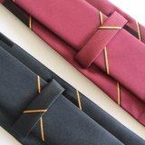 Cravates tissées par vente en gros, cravates, relations étroites de polyester (L012)
