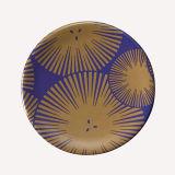 Plaque 100% de sushi de plaque de Vaisselle-Sushi de mélamine (grise) - - A006b