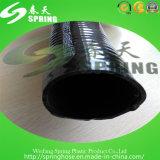 Schwarzer Belüftung-Plastikstahldraht-verstärkter Wasser-hydraulischer industrieller Abflussrohr-Schlauch