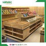 Promoción de la madera supermercado Verduras y Frutas Mostrar la tabla