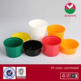 Tour de style occidental PP coloré en plastique contenant des aliments (AB) de la série