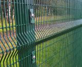 Enduit de PVC clôture métallique de 3D, clôtures de jardin