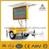 Programmierbarer angeschaltener LED-heller Verkehrssicherheit-VM-Solarschlußteil