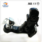 Выкованный крюк штыря черноты стали углерода с шариком