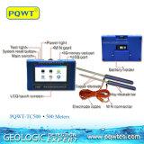 Pqwt 500 tester di acqua sotterranea che indaga gli accessori dello strumento di rilevamento topografico