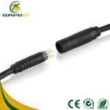 Câble circulaire de prises électriques de fil de Pin M8 9
