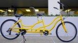 Bike 26 дюймов тандемный, тандемный велосипед крейсера пляжа 7 скоростей