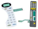 Interrupteur à membrane tactile gaufré imperméable à l'eau pour équipement médical