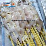 Pincho congelado del calamar de North Pacific de los mariscos
