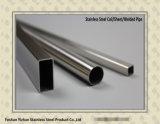 304 Tuyau en acier soudés en acier inoxydable pour la décoration
