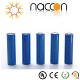 batteria di litio 2000mAh della batteria 18650 dello Li-ione